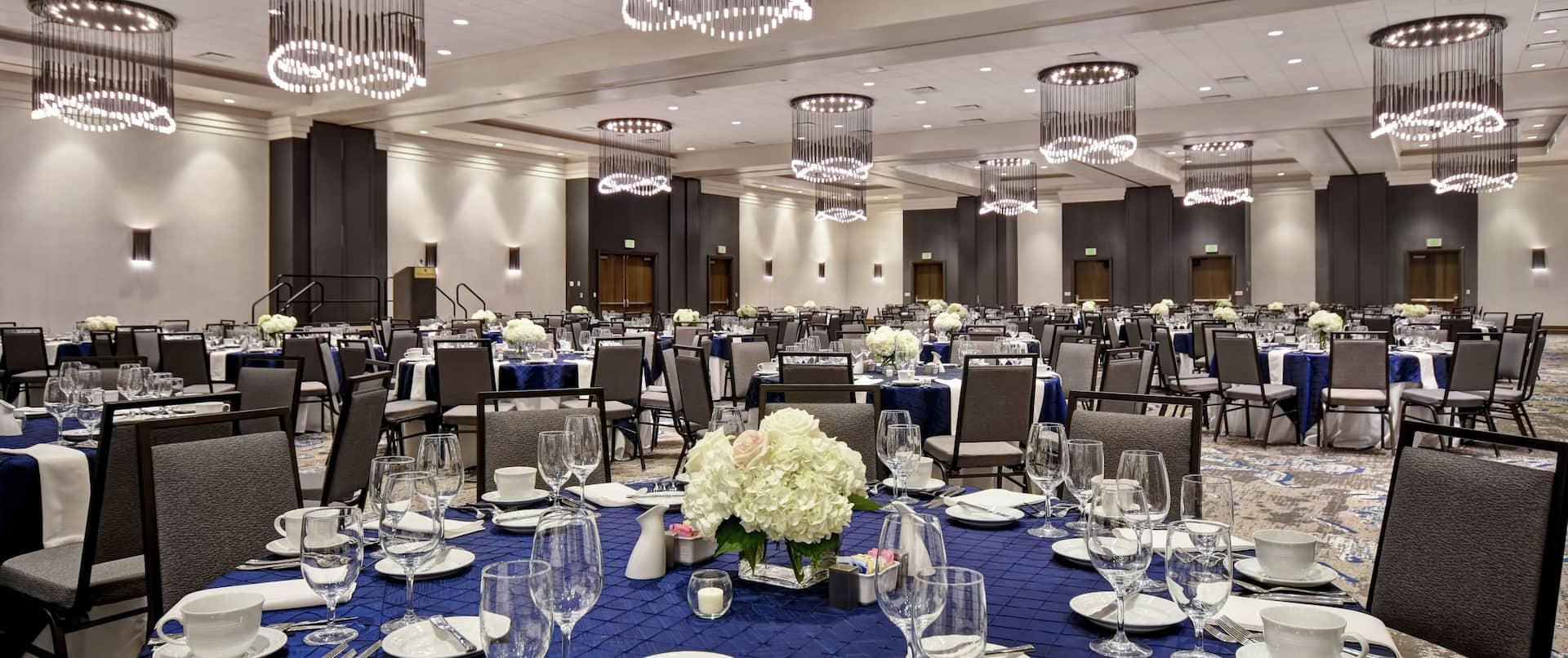 Ballroom Round set up