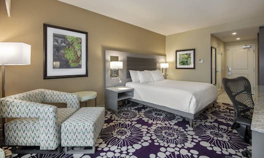 Relax in a Spacious King Guest Room