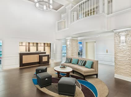 Homewood Suites Raleigh-Durham AP/Research Triangle Hotel, NC - Lobby