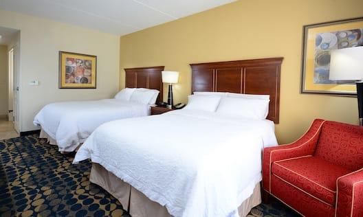 2 QUEEN BEDS NONSMOKING