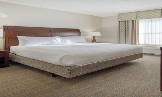 Accessible King One Bedroom Suite Bed View