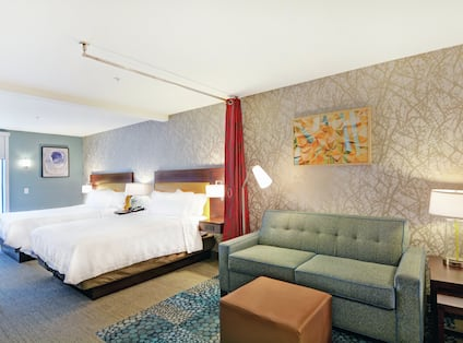 Double King Bed Guestroom Suite