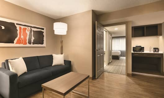 Accessible Suite Living Area
