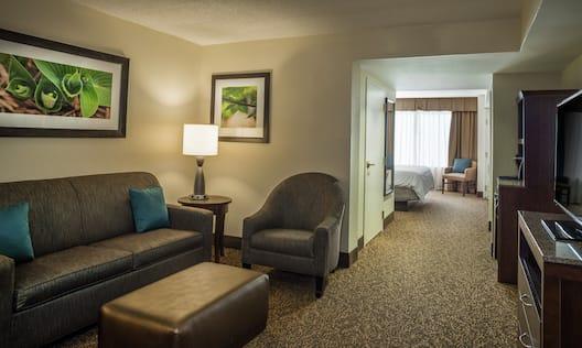 King Junior Executive Suite Living Area