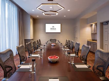 Boardroom With Room Technology