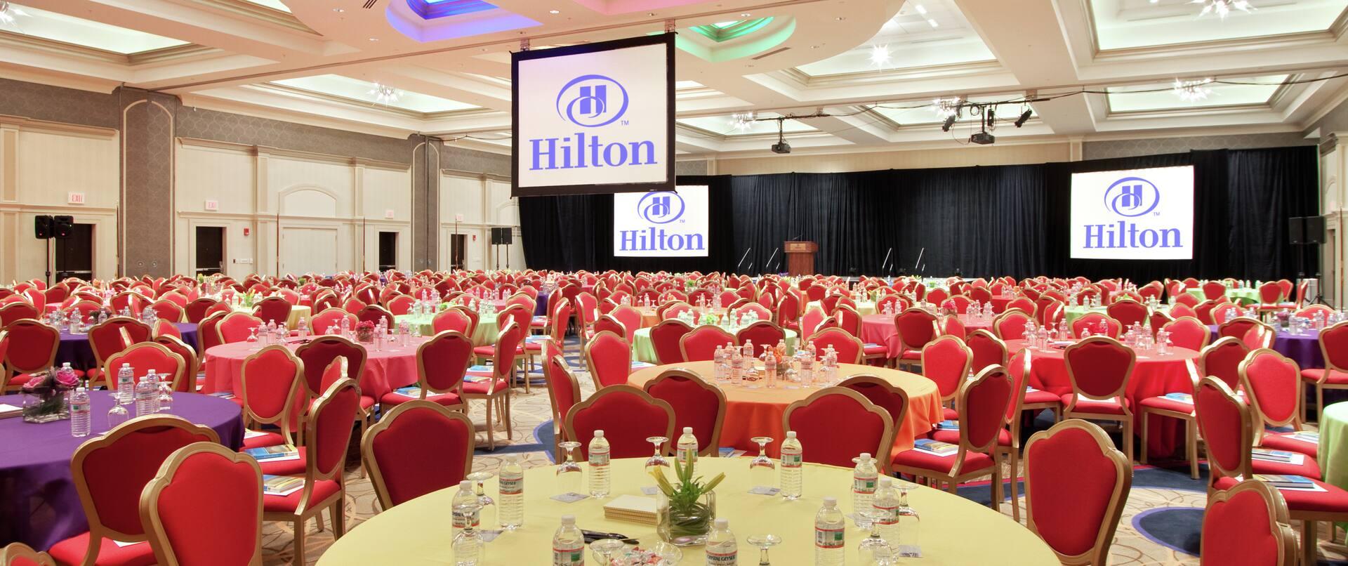 Ballroom, Banquet Setup