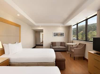 Ocean Front Double Bed Suite
