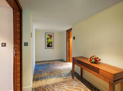 Corridor Connection in Two Bedoom Suite