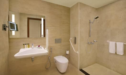 King Accessible Guestroom Bathroom