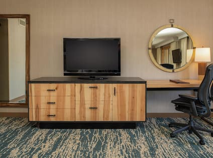 Guest Suite With Work Desk