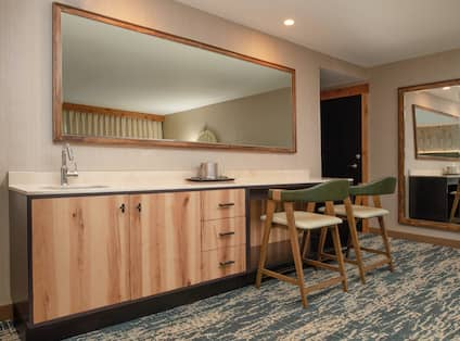 Guest Suite Wetbar