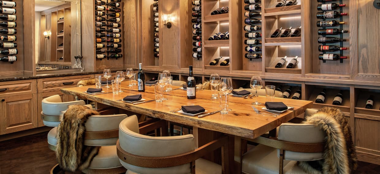 Restaurant Wine Room