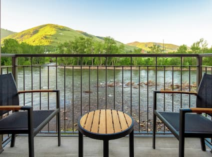 Guestroom Balcony With Riverview