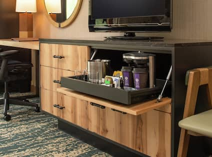 Guestroom With Coffee Station