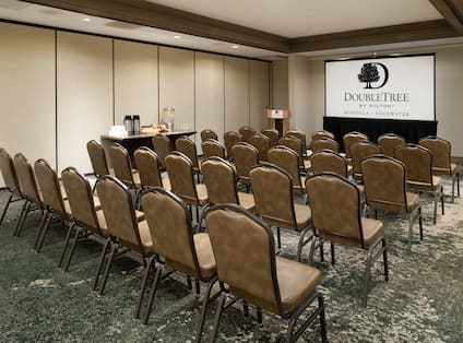 Clark Meeting Room Theater set-up