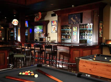 Pool Table at RJ's Happy Hour Club