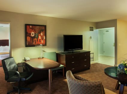 Living Area,  Presidential Suite