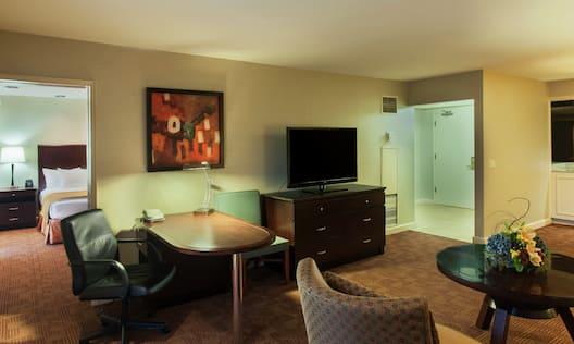 Living Area,  Presidential Suite