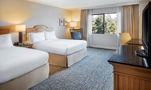 Accessible Double Queen Bedroom