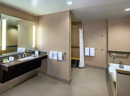 Accessible Parlor Bath