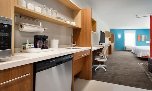 Accessible Two Queen Studio Suite