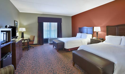 Double Queen Beds Accessible Room