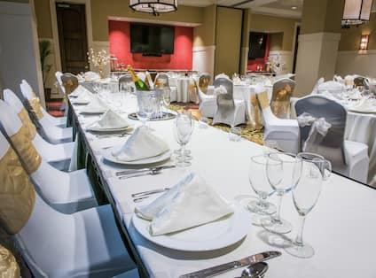 Hotel Ballroom Event Setup