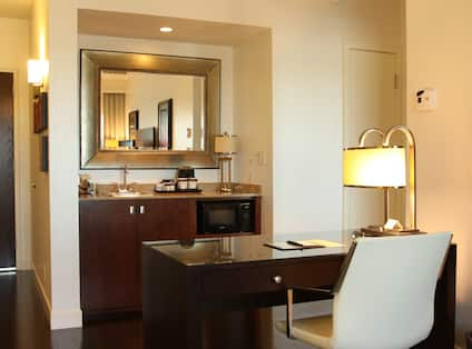 Working Area of the Suite