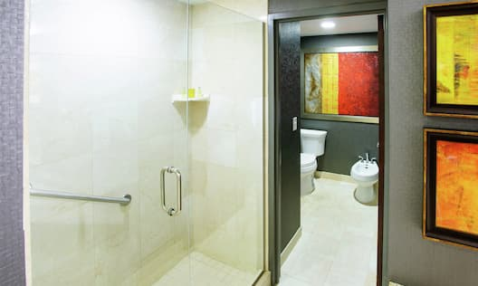 Suite Bathroom With Shower