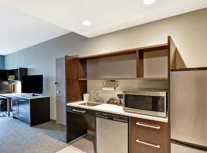 Suite with Accessible Kitchen