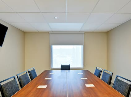 Meeting Room with Boardroom Table and Chairs