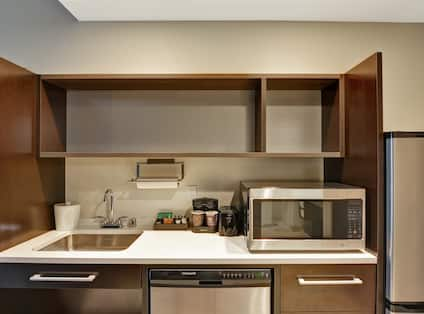 Accessible Kitchenette With Full Sized Appliances