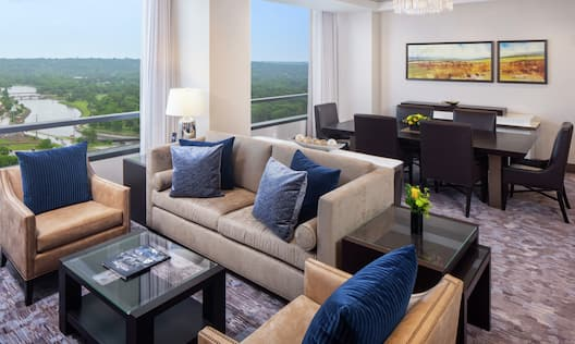 Accessible Living Room with City Views