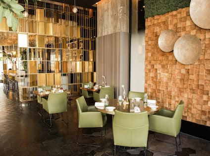 The Michelin Star Restaurant Joelia Dining Area