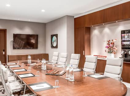 Boardroom with HDTV