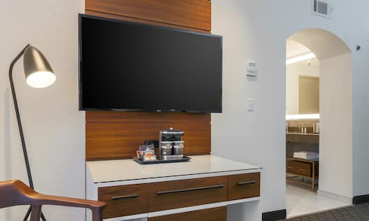 Suite with HDTV
