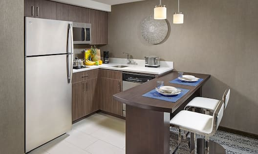 Guestroom In-Room Kitchen