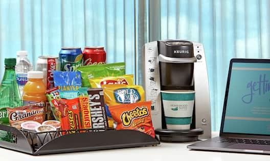 Premium Snacks and WiFi