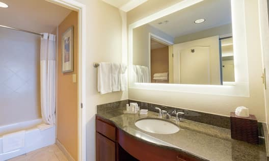Studio bathroom vanity