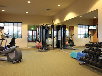 Hilton Grand Vacations Club at MarBrisa, CA - Fitness Center Area