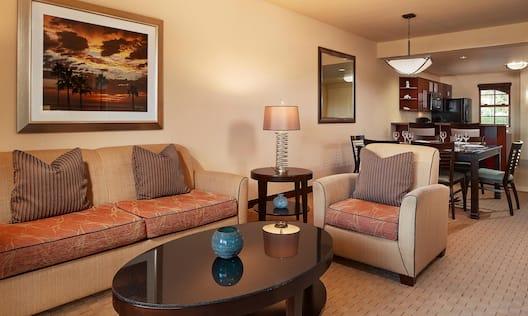 2 Bedroom Suite Living Area