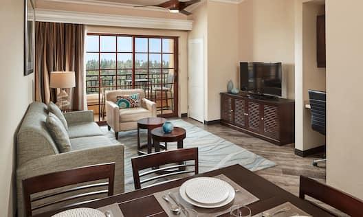 2 Bedroom Premier Suite Living Area