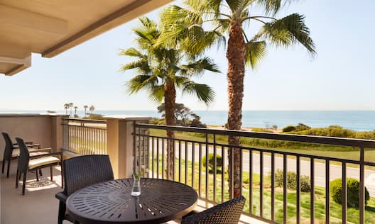 Ocean View Furnished Balcony