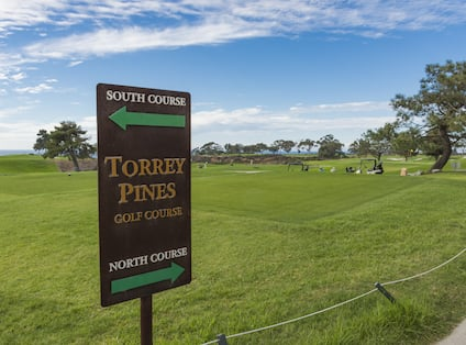 Torrey Pines Golf Coursse Sign