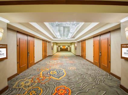 Scripps Hallway