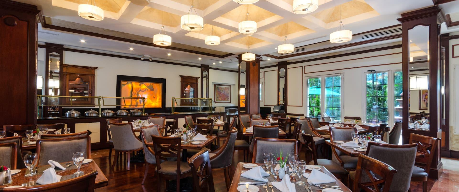 Garden Court Restaurant Dining Area
