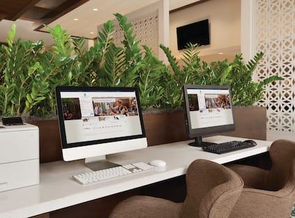 Business Center Computer Workstations
