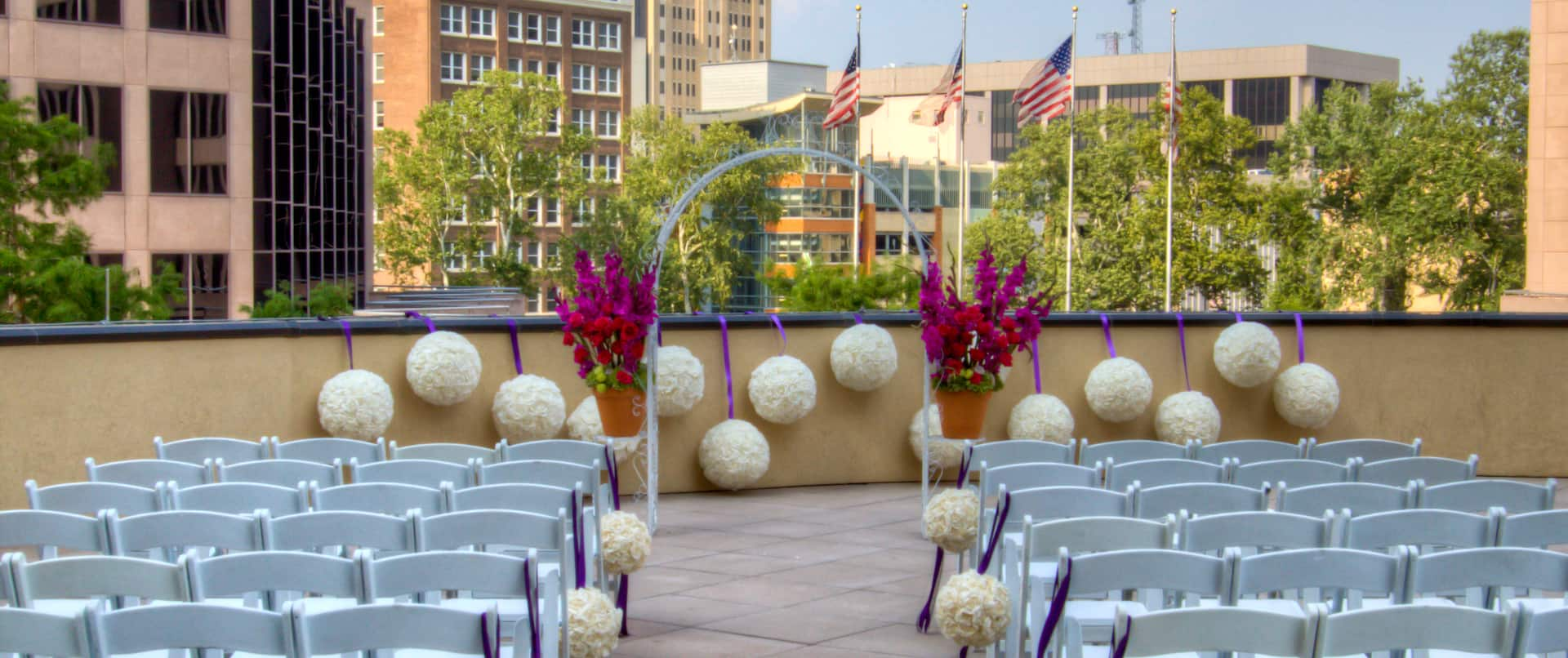 Weddings, River Terrace