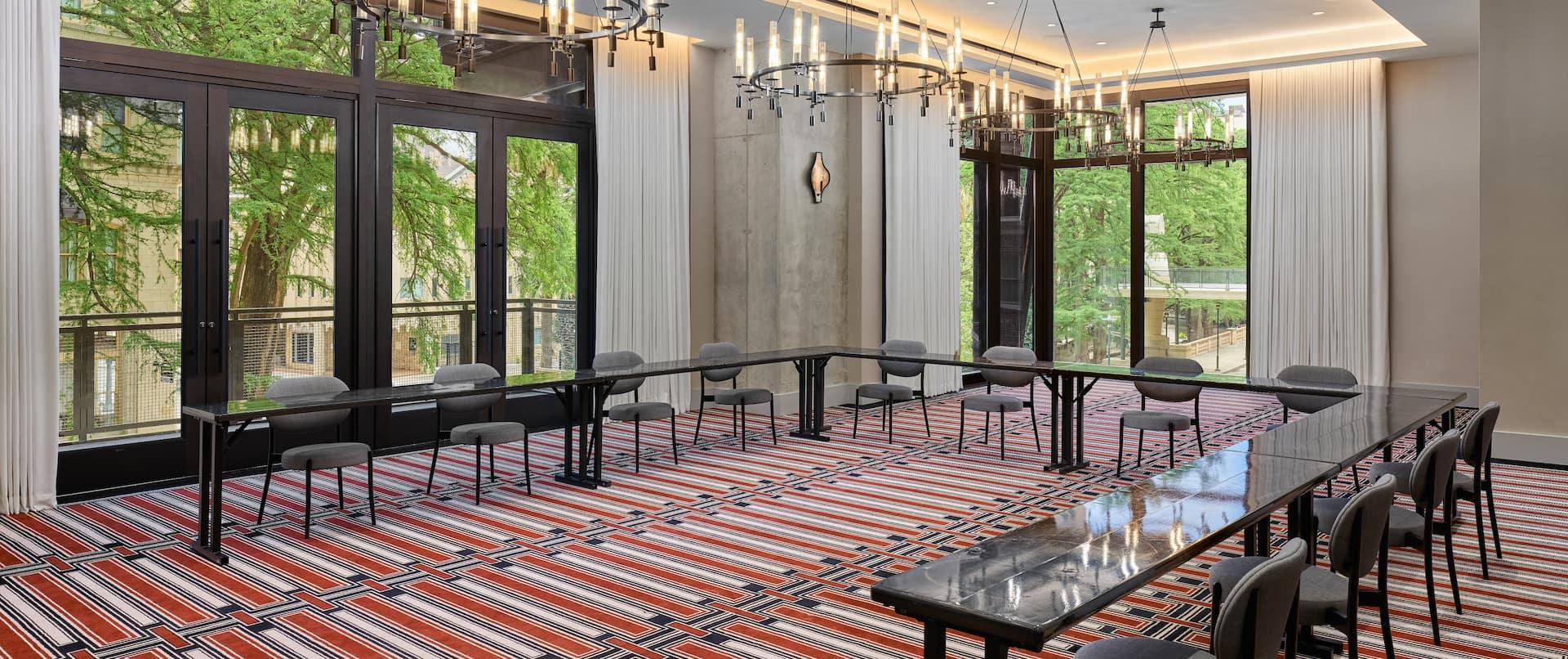 Las Ramas Meeting Room with Balcony Riverwalk View