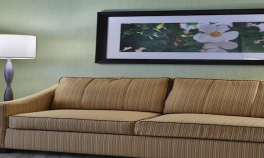 King Hotel Guestroom Suite Living Area